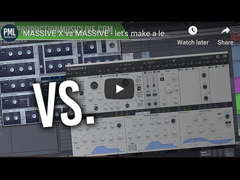 Massive X vs Massive